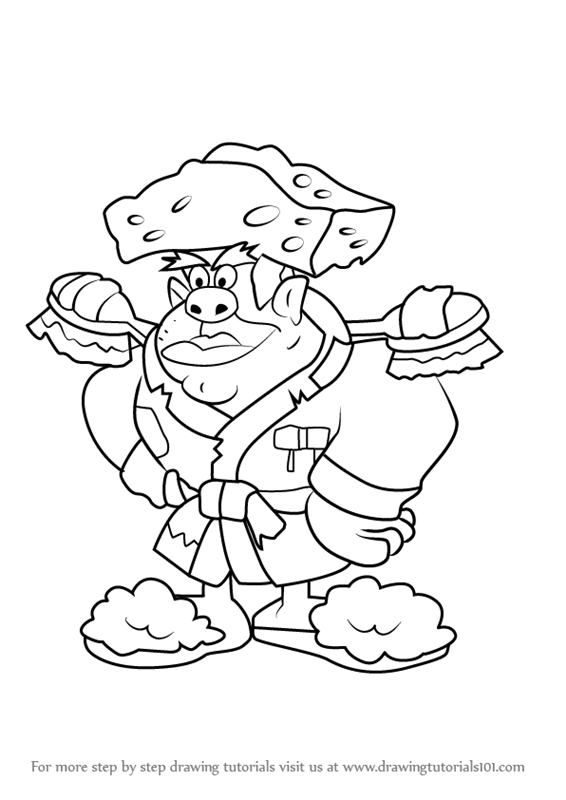 566x800 Learn How To Draw Captain James P. Dirt From Kids Next Door