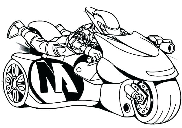 600x424 Dirt Bike Coloring Pages Printable
