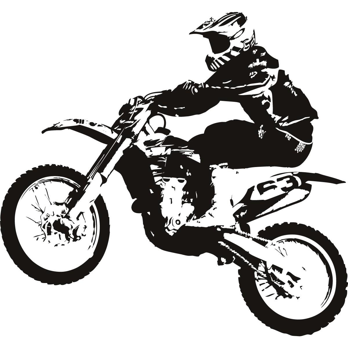 1200x1200 Cartoon Dirt Bike Drawing