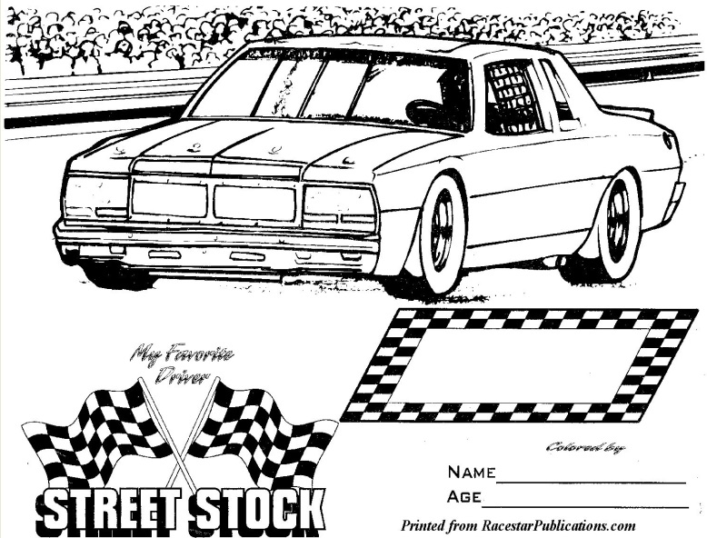 778x592 Late Model Coloring Pages Free Coloring Book Picture