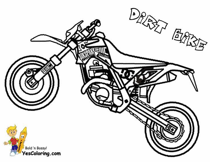 Dirtbike Drawing