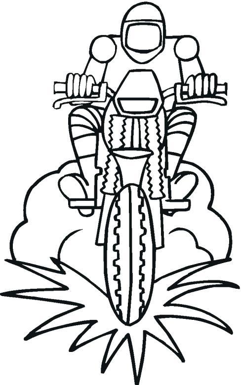 Dirtbike Drawing at GetDrawings | Free download