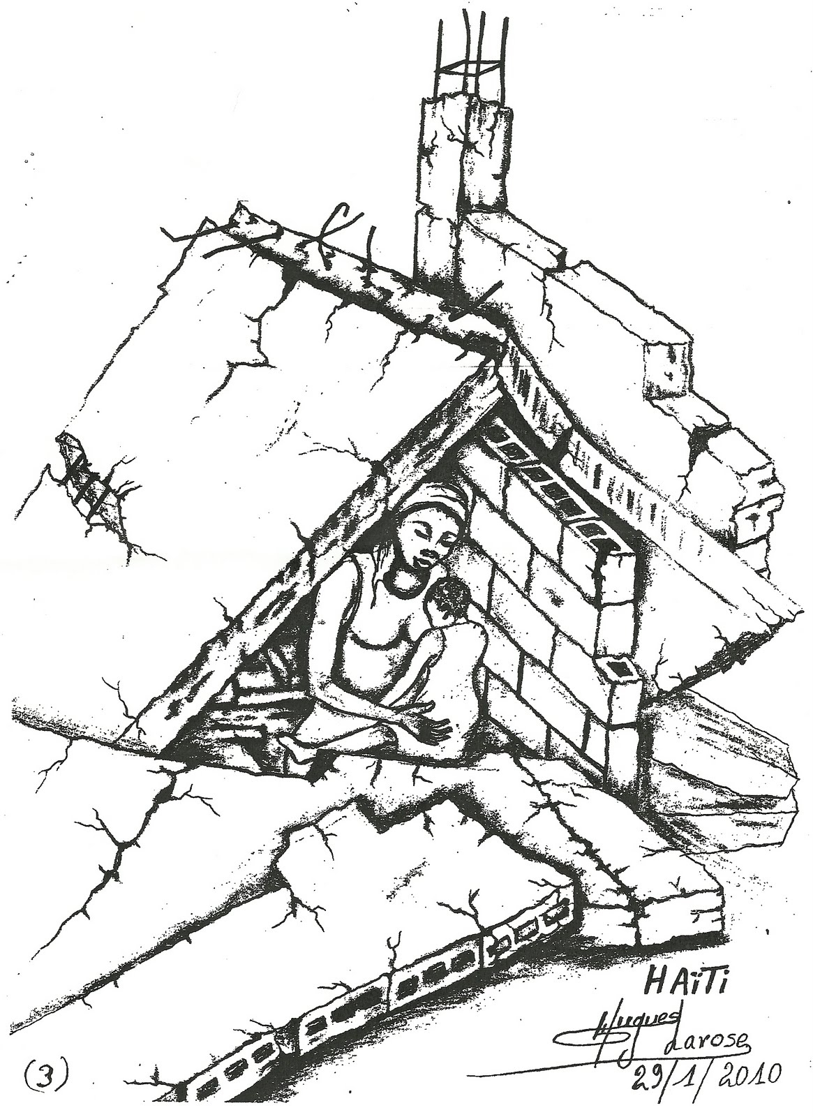 1165x1600 Pencil Sketch Earthquake Natural Disaster Sketch Images