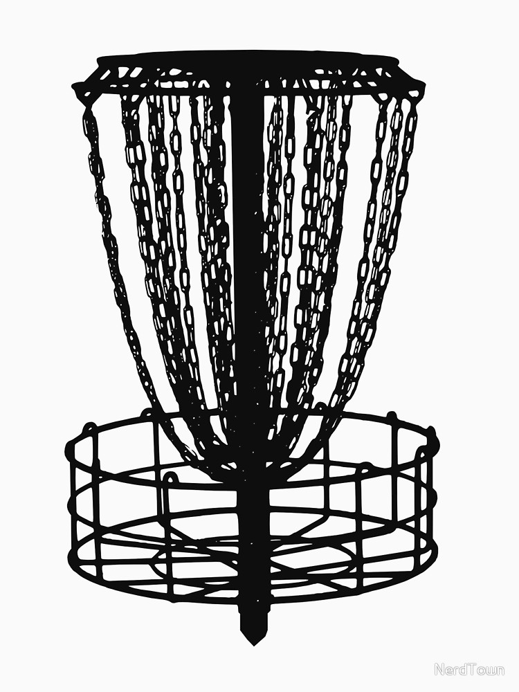 750x1000 Disc Golf Basket Classic T Shirt By Nerdtown Redbubble