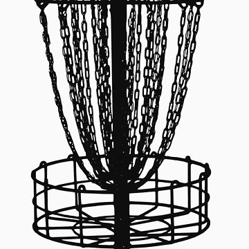 360x360 Disc Golf Basket Unisex T Shirt By Nerdtown Redbubble