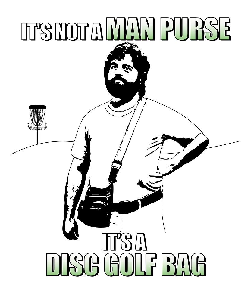 833x1000 It's Not A Man Purse, It's A Disc Golf Bag By Flycitydesigns