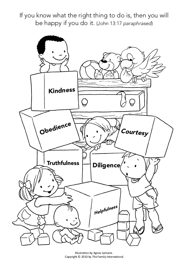 638x903 Coloring Page Discipline Helps Me Grow