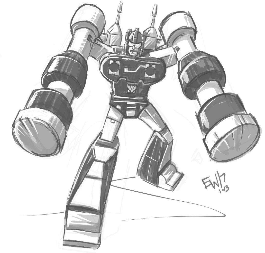 1089x1039 Daily Discipline Frenzy G1 Transformers Eryck Webb Graphics