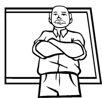 350x339 Strict Discipline And Teacher Coloring Pages Kids Coloring Pages