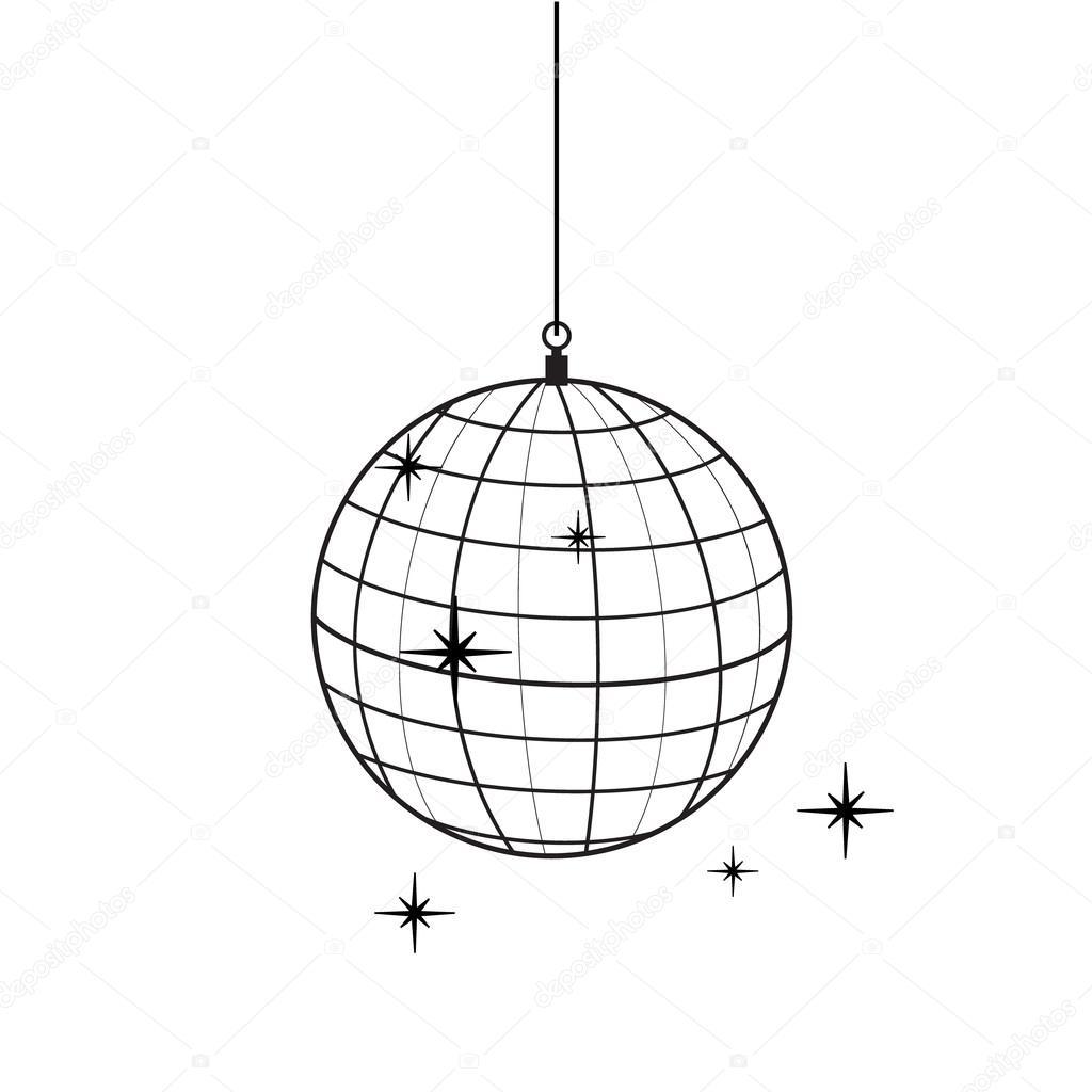1024x1024 Disco Ball Raster Stock Photo Viktorijareut