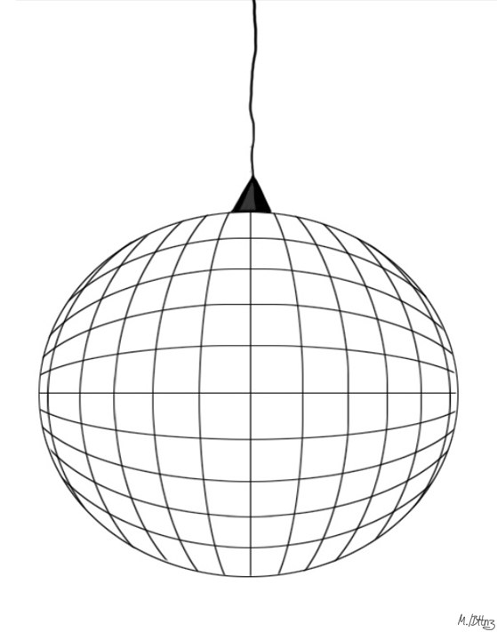 559x711 How To Draw A Disco Ball Behind The Toonz
