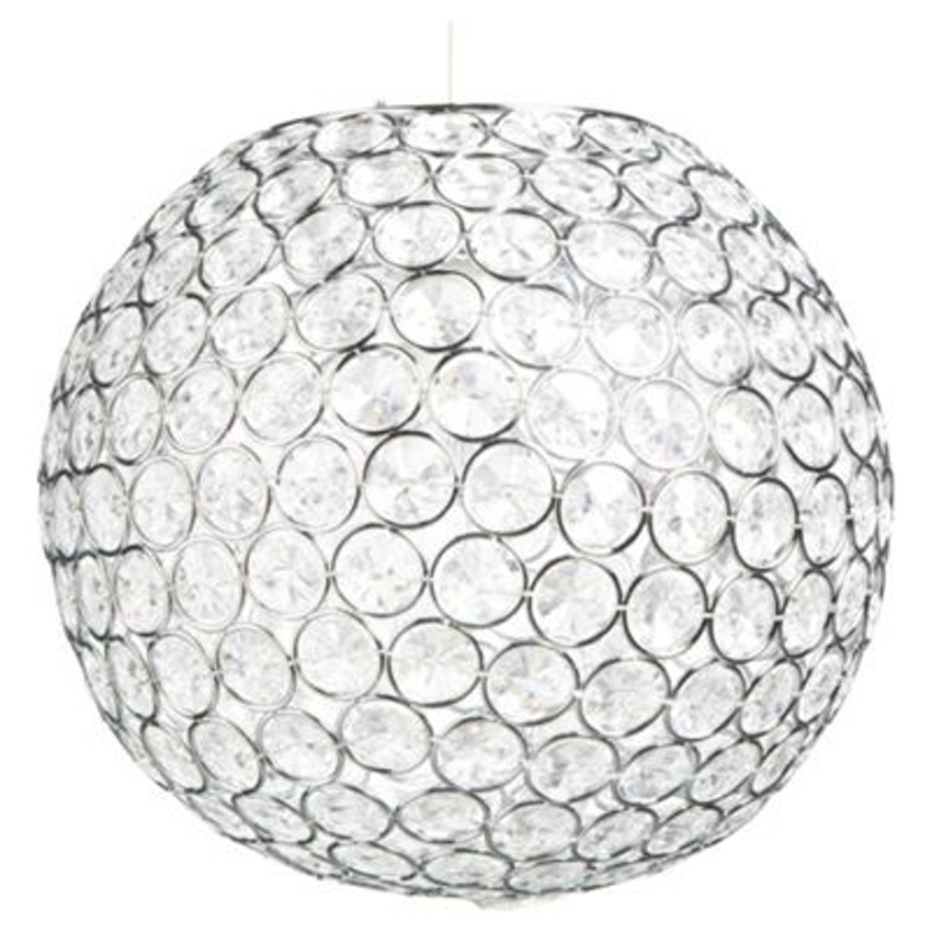 850x850 Myshop Tesco Lighting Disco Ball Pendant Clear ~ Idolza