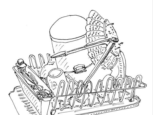 620x465 Drawing The Vanishing Restaurants Of New York The New Yorker