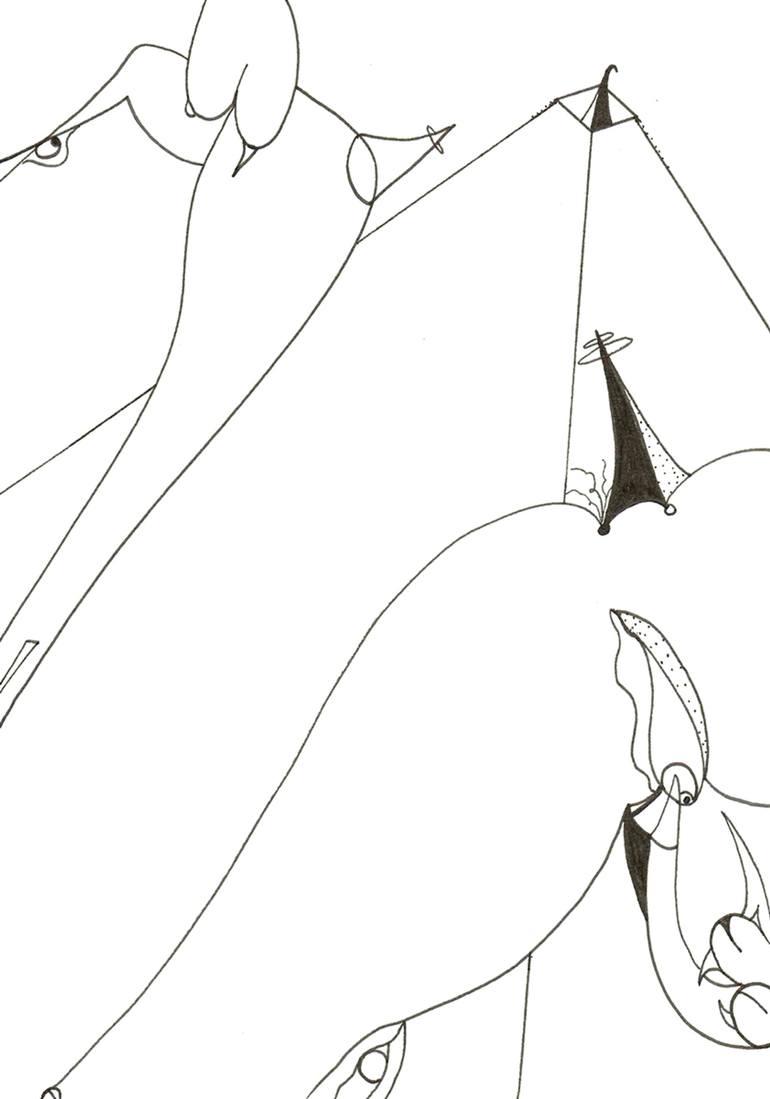 770x1099 Saatchi Art Dish Drawing By Lauren Bennett