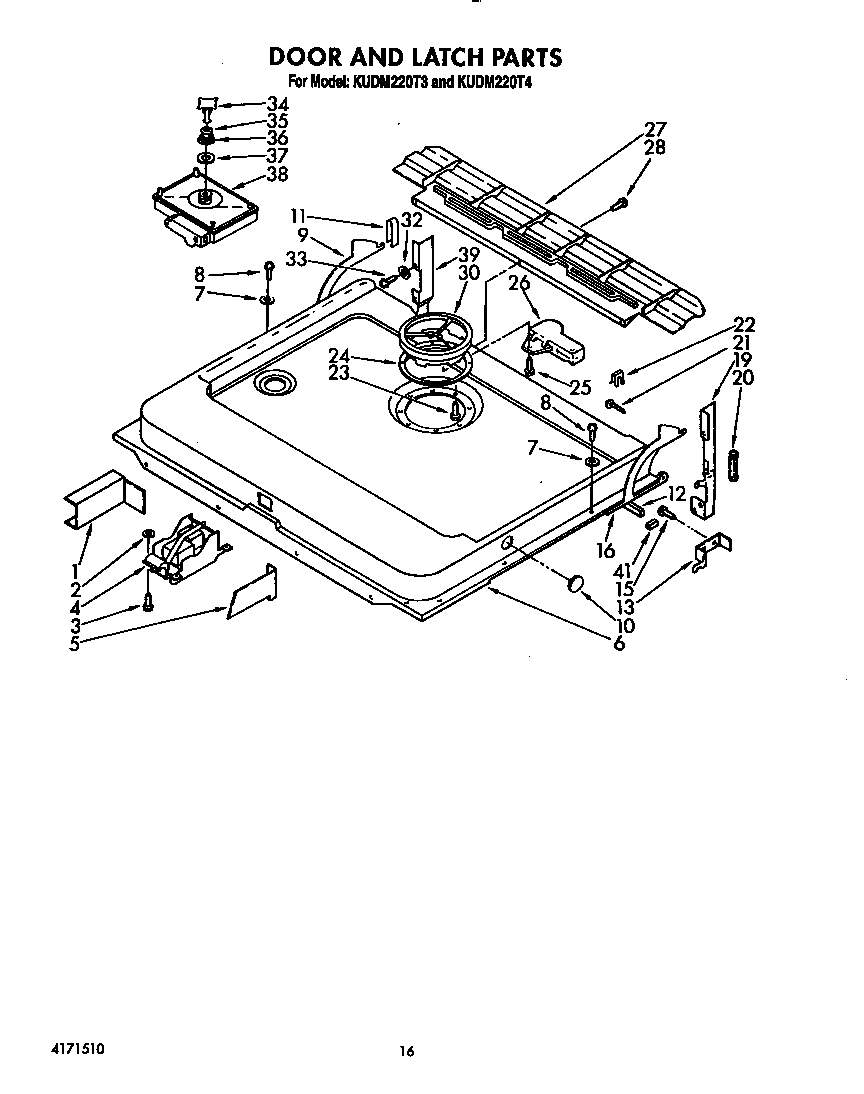 Dishwasher Drawing At Free For Personal Use Whirlpool Washing Schematics 864x1094 Kitchenaid Kudm220t4 Timer