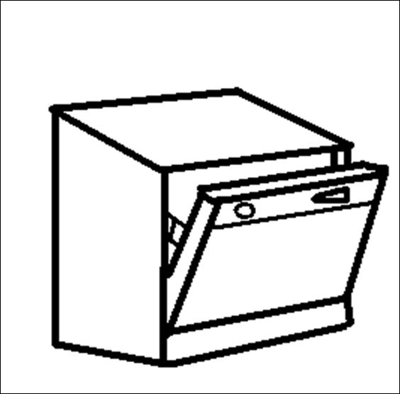 dishwasher drawing at getdrawings com