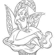 220x220 Alice In Wonderland Coloring Pages, Drawing For Kids, Free