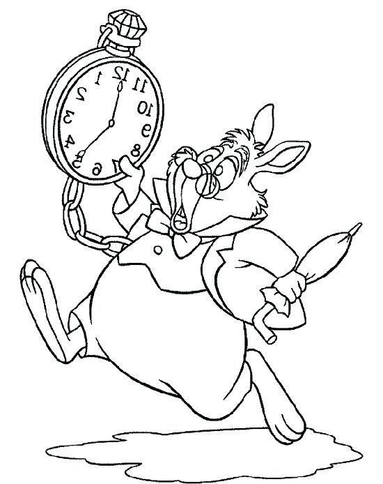 550x694 Coloring Pages Alice In Wonderland In Wonderland Coloring Pages
