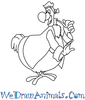 300x350 How To Draw Dodo From Disney