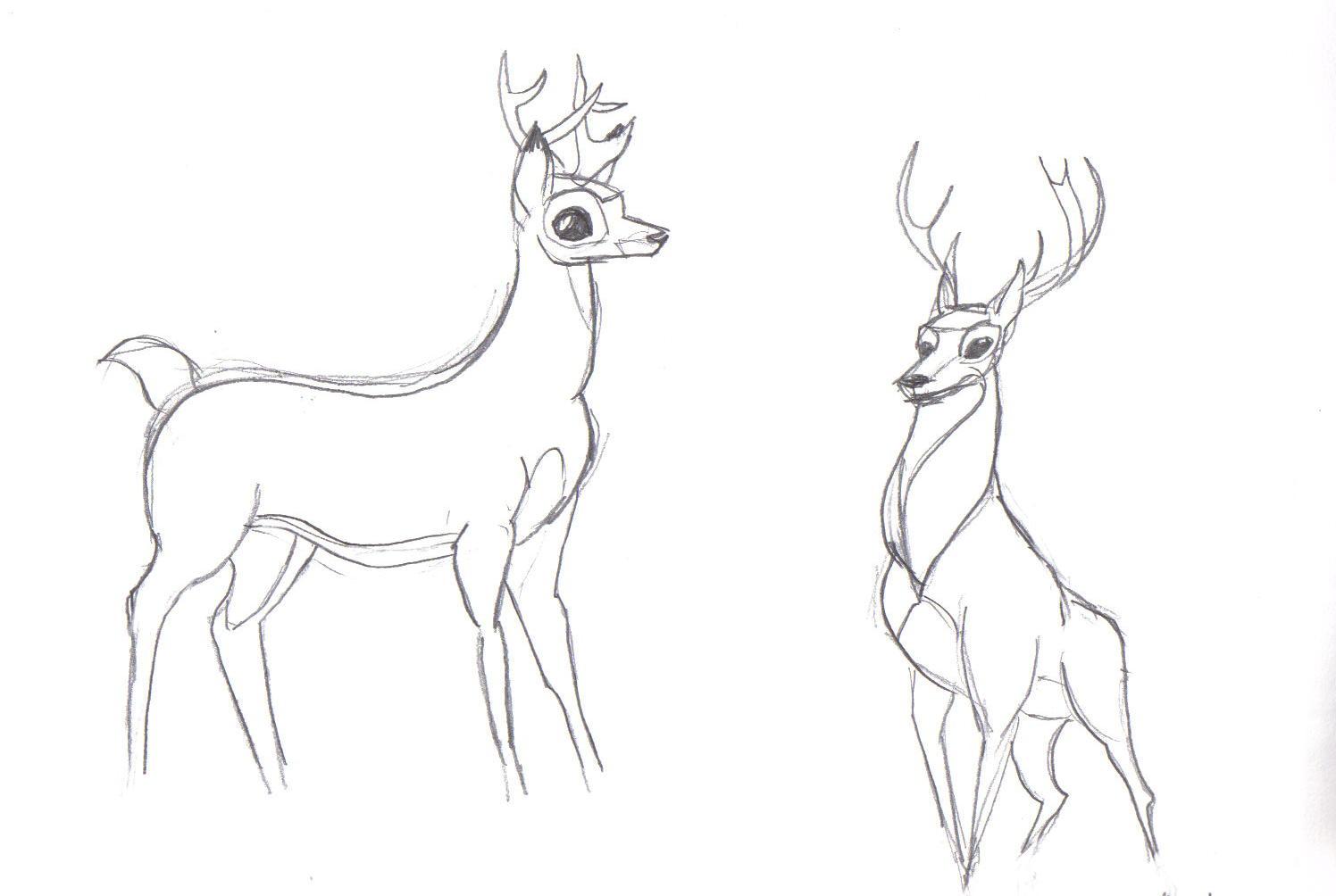 1496x1004 Disney Bambi Deer By Rewstargazer