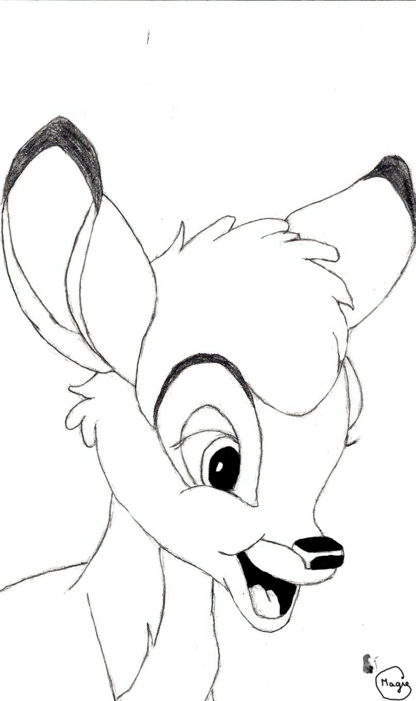 806x1358 Bambi By Magydisney