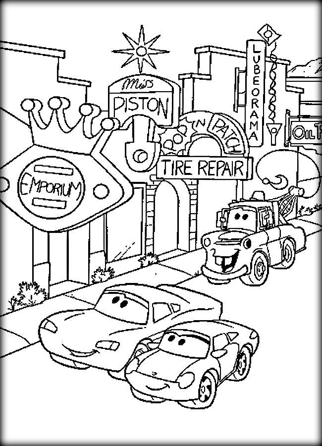 650x900 disney cars coloring pages 79 pictures to pin on pinterest - Cars Coloring Pages Free Printable