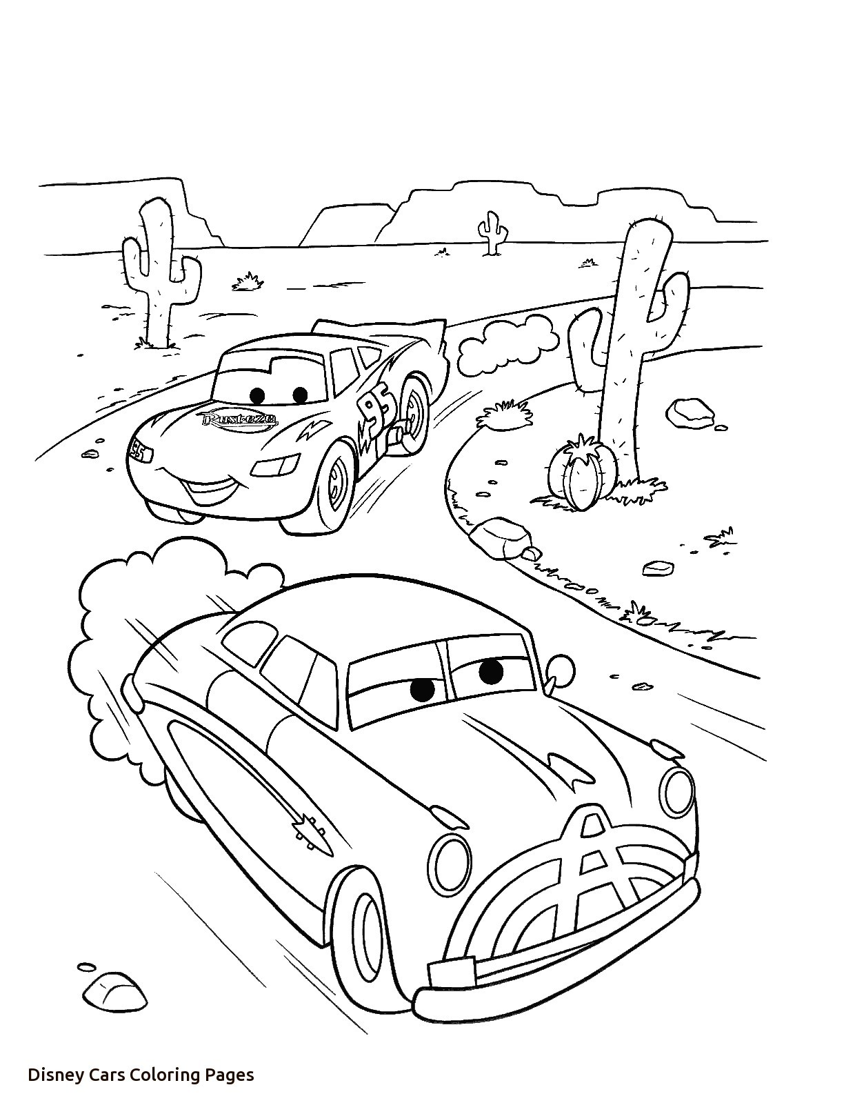 1240x1615 Cars Coloring Pages Beautiful Lightning Mcqueen And Doc Hudson