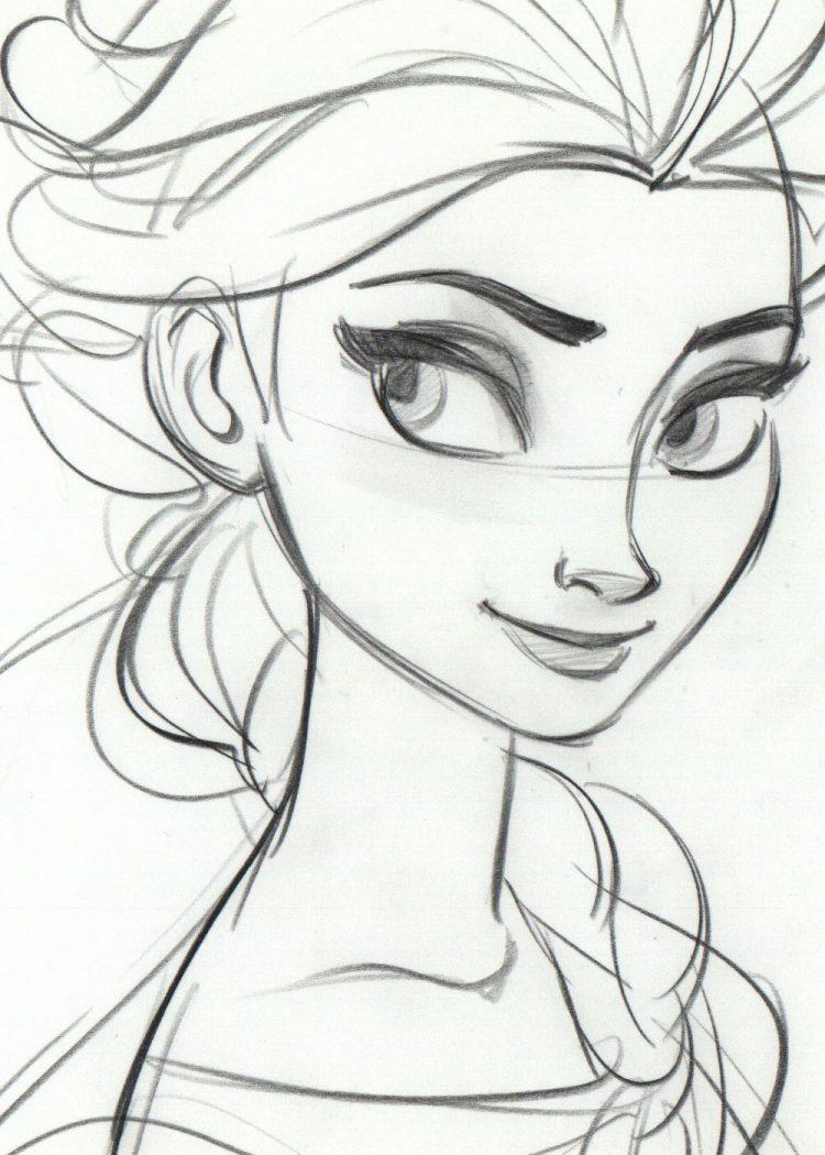 Disney Cartoon Characters Drawing At Getdrawings Free Download
