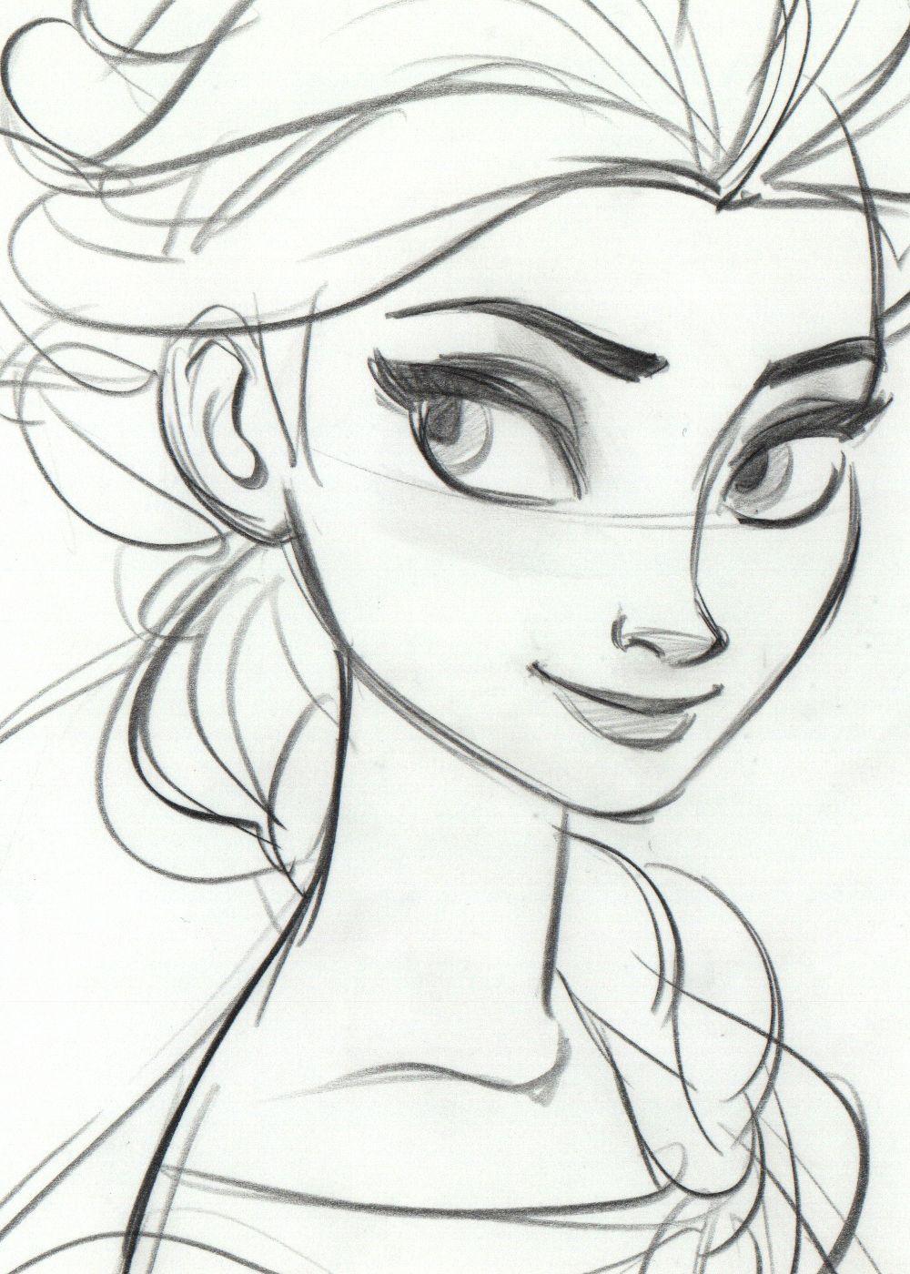 Disney Cartoon Drawing At Getdrawings Free Download