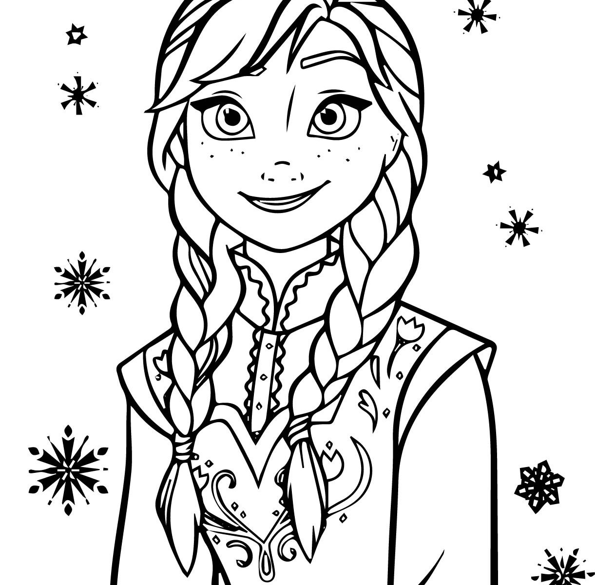 1221x1200 Frozen Clipart Kid Printable Coloring Page Pencil And Drawing