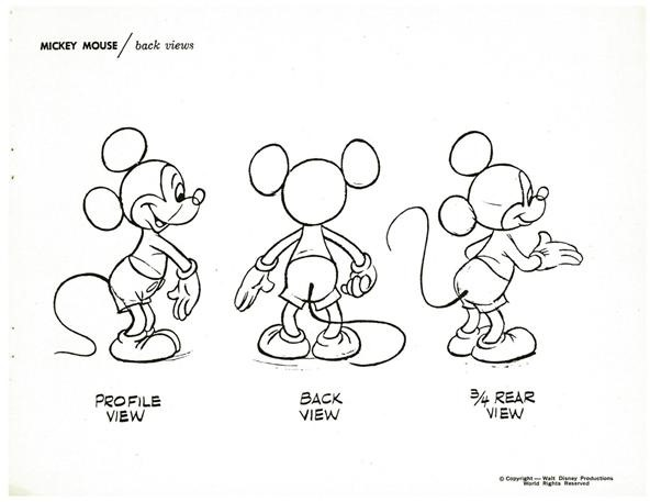 592x457 How To Draw Disney's Most Famous Cartoon Character Mickey Mouse