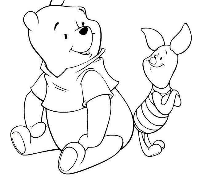 660x600 Printable Pictures Of Disney Characters Coloring Page