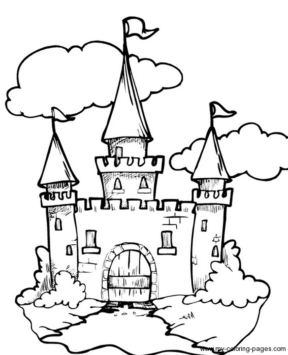 Disney Castle Drawing Tutorial At Getdrawings Com Free For