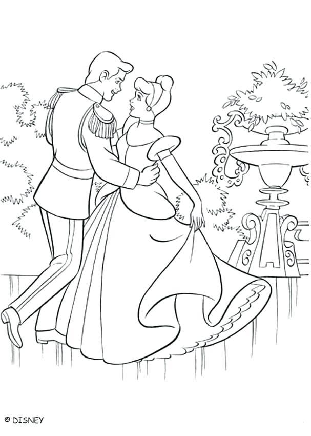 607x850 Cinderella Printable Coloring Pages Printable Cinderella Castle