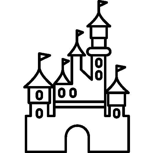 512x512 Disney, Paris, Disneyland, Castle, Buildings Icon