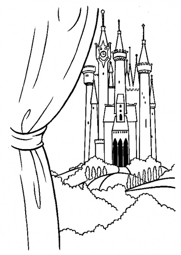 374x525 Disney Castle Coloring Page By Julio Mulierchile