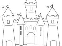 200x150 Castle Coloring Page Luxury Disney Castle Coloring Page Free