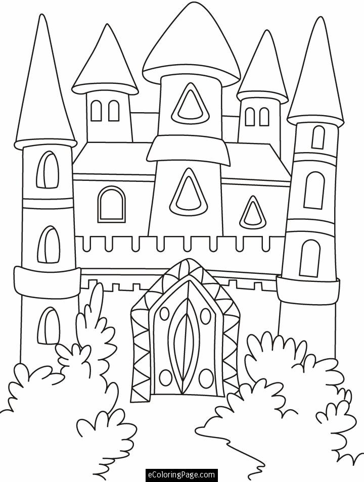 720x954 Disney World Castle Coloring Page Many Interesting Cliparts