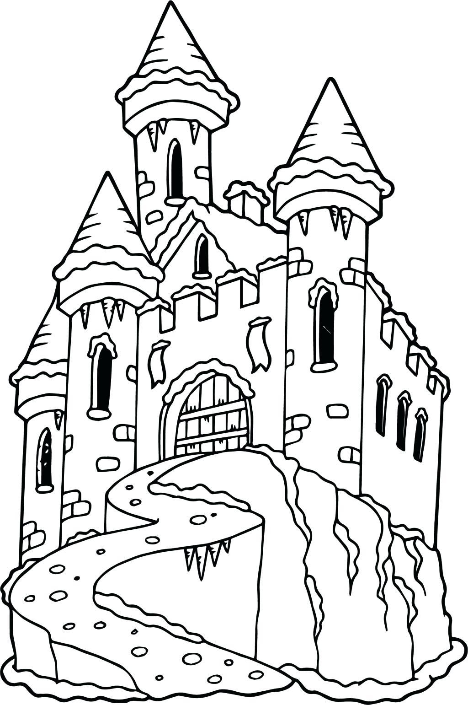 1024x1541 Coloring Disney Castle Coloring Page