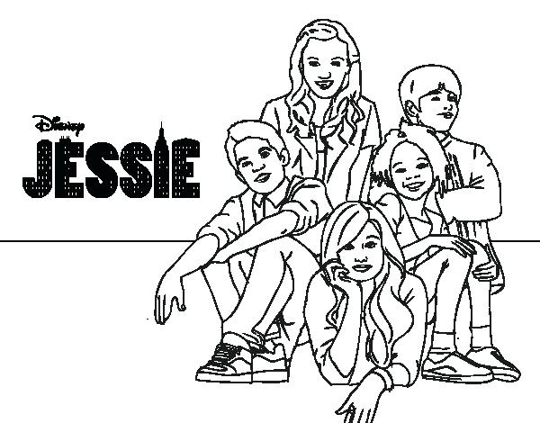600x470 Disney Channel Coloring Pages