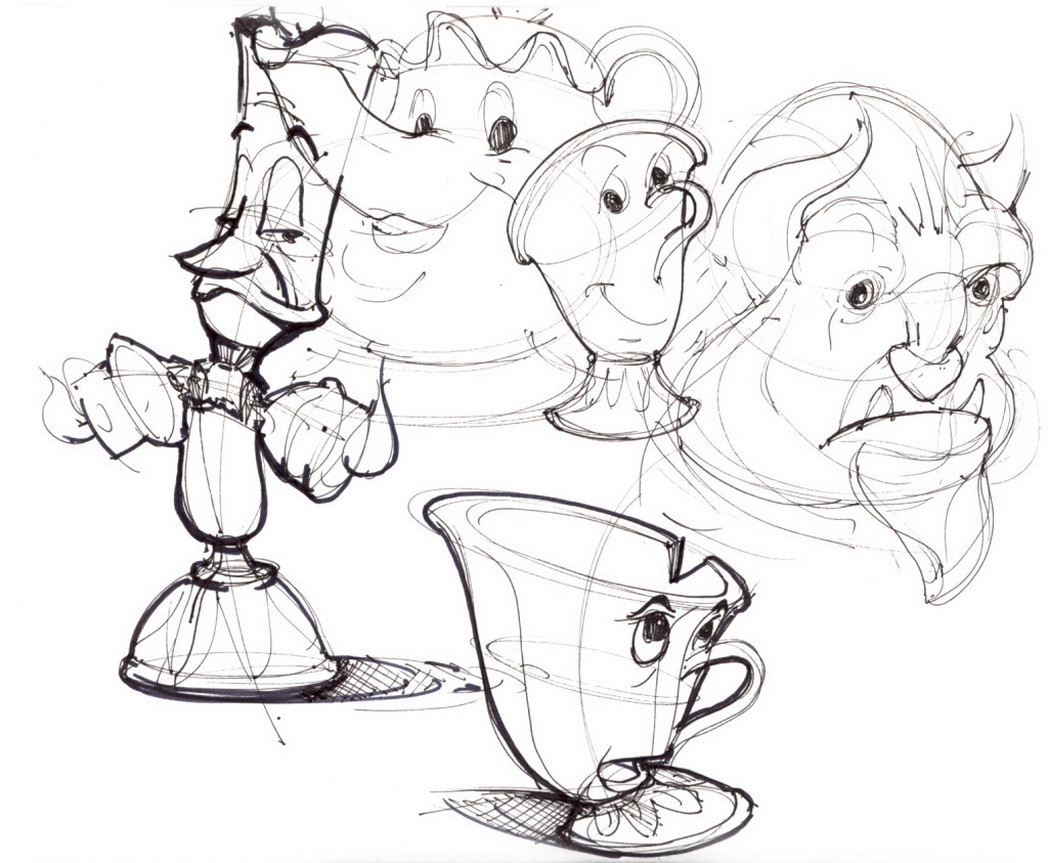 1048x863 Cartoon Drawings Disney How To Draw Disney Characters With Eric