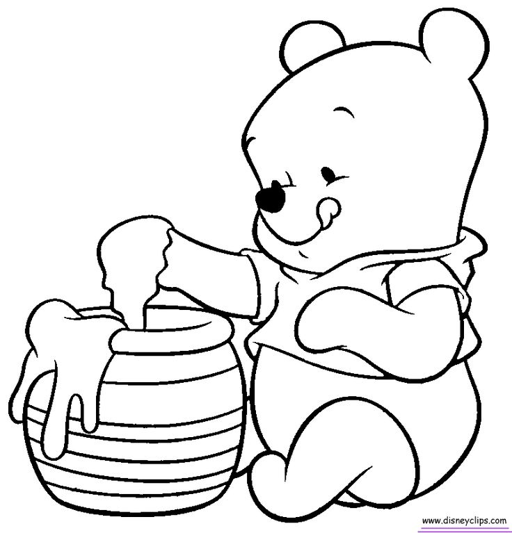 Coloriage Disney Baby.Disney Characters Line Drawing At Getdrawings Com Free For