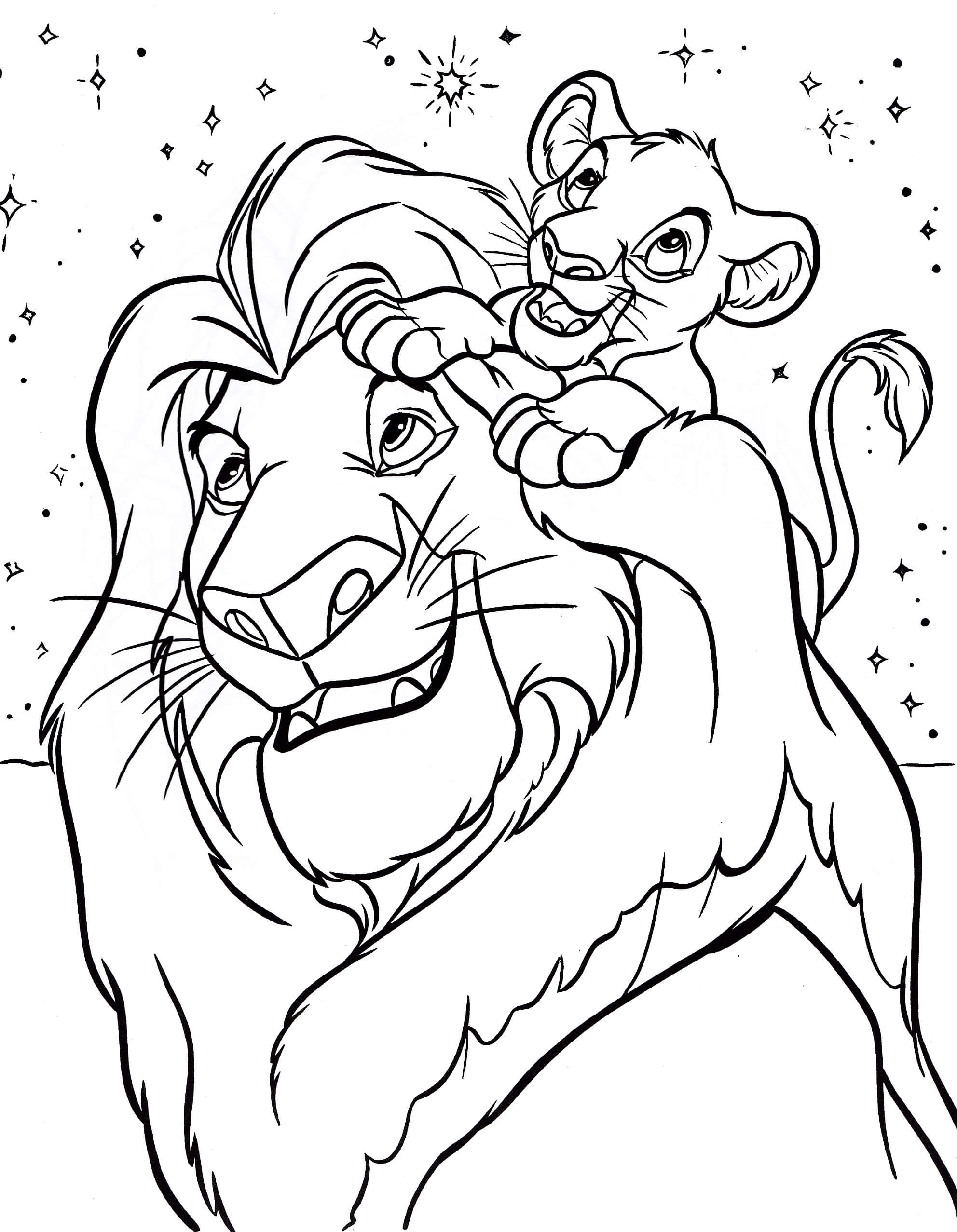 1984x2555 Disney Characters Coloring Pages