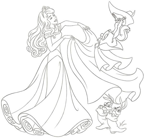 600x575 Disney Princess New Redesign