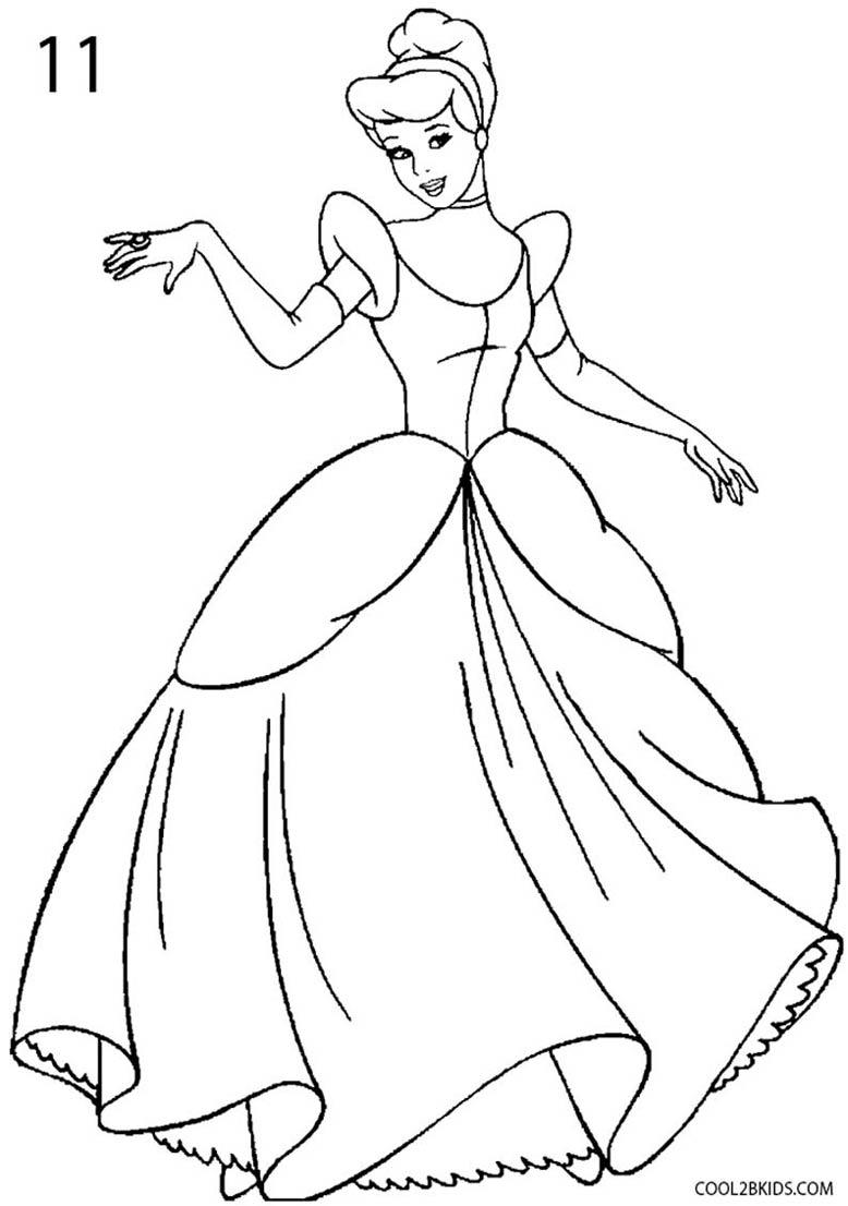 778x1106 Gorgeous Design Cinderella Outline 25 Best Silhouette Ideas