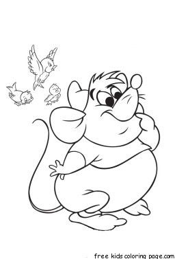 275x377 Gus From Cinderella Drawing