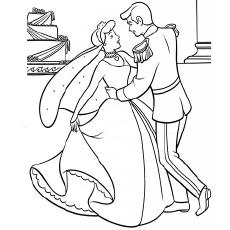 230x230 Top 25 Free Printable Cinderella Coloring Pages Online