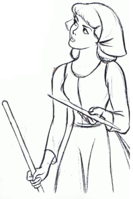 526x785 Disney Cinderella Sketches