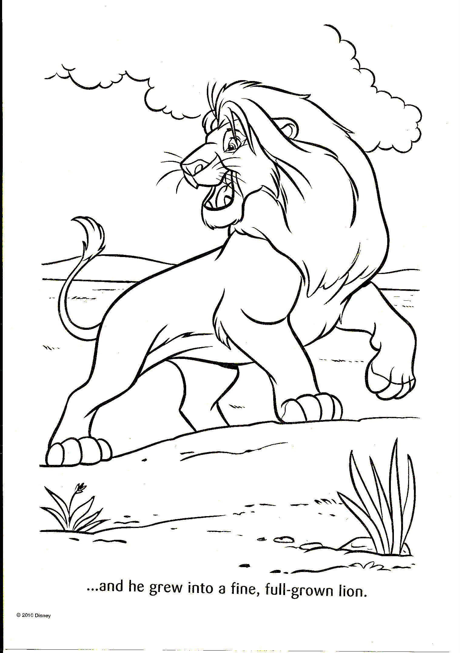Único Disney Animales Para Colorear Regalo - Enmarcado Para Colorear ...