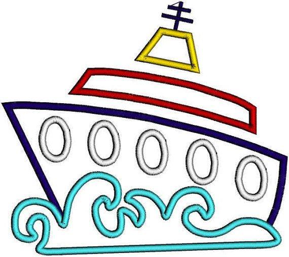 570x508 Cruise Ship Clip Art